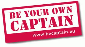 "Logo der Kampagne ""Be your onw captain"""